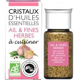 Essentiële olie kristallen - Culinair - Look & fijne kruiden - 10g