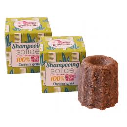 2x Solide shampoo  - Vet haar - Litsea cubeba