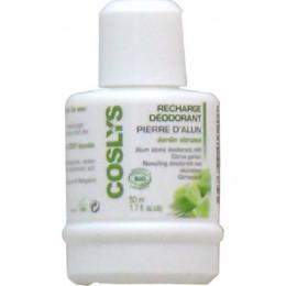 Navulling voor deo BIO Aluinsteen - Citrustuin - 50 ml