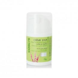 Dagcrème BIO voor vette huid met plantaardige actieve stoffen - 50 ml