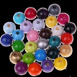 Regenboogparels - 60 stuks - vanaf 3 jaar