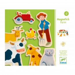 Magnetenset - Boerderij & Dieren