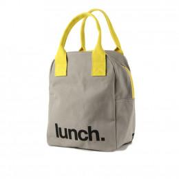 """Lunchzak met ritssluiting """"lunch"""""""