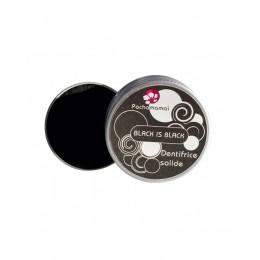 Solide natuurlijke tandpasta - Black is Black - 20 g