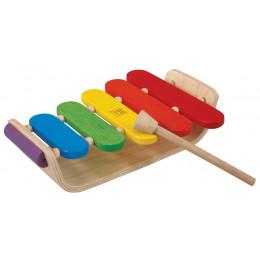 Ovale xylofoon - vanaf 18 maanden