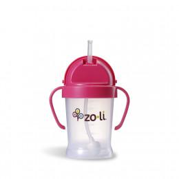 Zoli Bot XL Drinkbeker met rietje Roze - 270ml