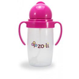 Zoli Bot 2.0 Drinkbeker met rietje Roze - 295ml