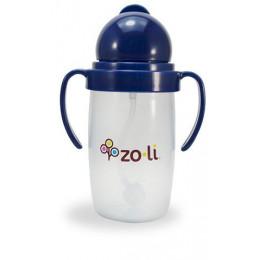 Zoli Bot 2.0 Drinkbeker met rietje Blauw - 295ml