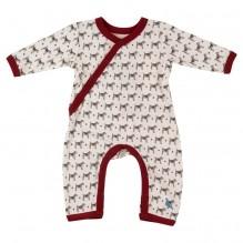 Pyjama - Body met lange mouwen in BIO katoen met Honden
