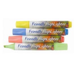 Fluo Stift Friendly Marker
