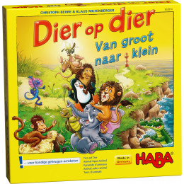 Houten Stapelspel - Dier op Dier - Van Groot naar Klein