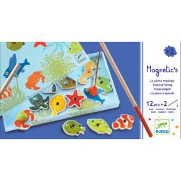 Magnetisch Visspel - Tropische Vissen