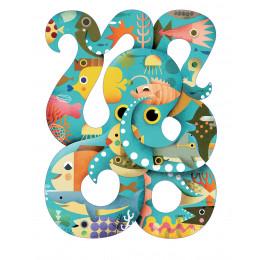 Puzz'Art Puzzel Octopus - 350 stuks - vanaf 7 jaar