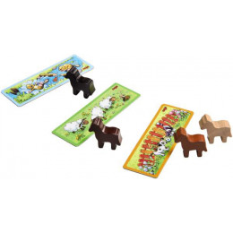 Paardesterk Dobbelsteenspel - Pony Jumping