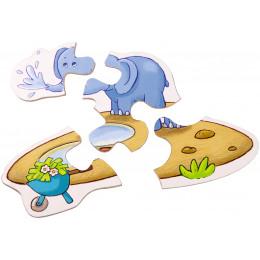 6 Eerste Puzzels - De Zoo