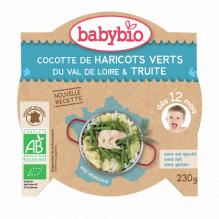 Mijn schoteltje - Groene groenten en forel uit Ariège (vanaf 12 maanden)