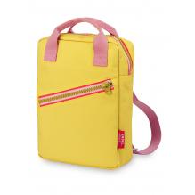 Rugzak small 'Zipper Yellow'