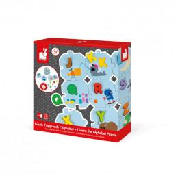 Leerrijke puzzel - Ik leer het alfabet - franstalig