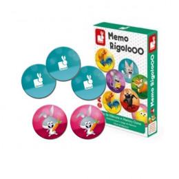 Memospel Rigolooo - vanaf 3 jaar