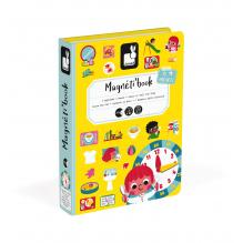 Magneti'book Leer de klok lezen vanaf 3 jaar