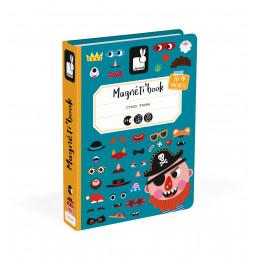 Magneti'book Gekke gezichten jongen vanaf 3 jaar