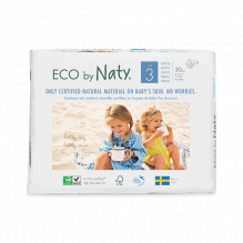 Ecologische wegwerpluiers - Maat 3 Midi - 4 tot 9kg (31 stuks)