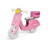 Roze scooter loopfiets Mademoiselle vanaf 3 jaar