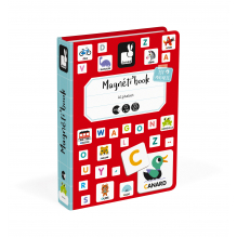 Magneti'book Alfabet franstalig vanaf 3 jaar