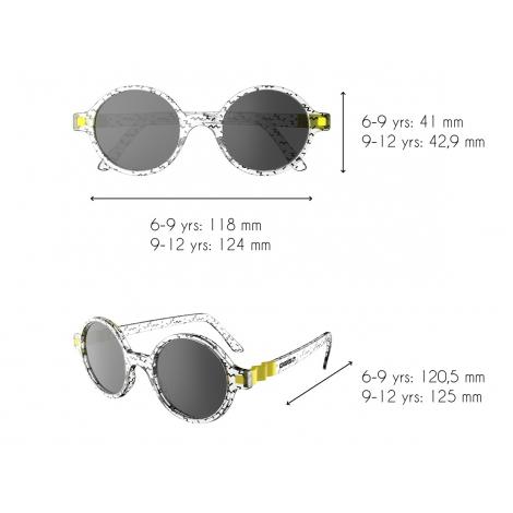 Zonnebril voor kinderen van 6 tot 12 jaar - Sun RoZZ - ZIG ZAG