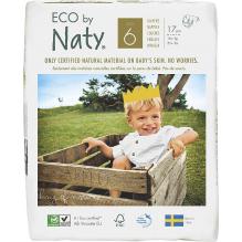 Ecologische wegwerpluiers - Maat 6 XL - +16kg (18 stuks)