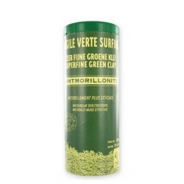 Zeer fijne groene klei Montmorillon