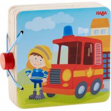 Houten babyboek Brandweer