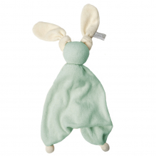 Knuffeltje Floppy badstof - Fresh mint/off white