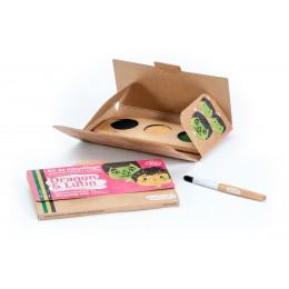 Kit de maquillage Bio 3 couleurs Dinisaure et camiuflage - à partir de 3 ans