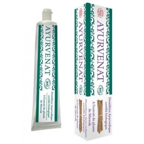 3859ecaab3f Ayurvedsiche tandpasta met Bio Miswak - SeBio