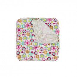 Flanel wasbare doekjes - Fleur - Set van 12