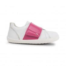 Schoenen Step up - Boston Trainer White + Pink - 729911