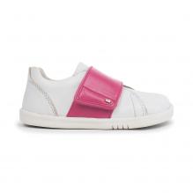 Schoenen I walk - Boston Trainer White + Pink - 635311