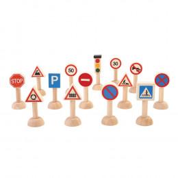 Plan City verkeersborden set - vanaf 3 jaar