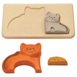 Puzzel katten - vanaf 18 maanden