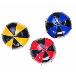 Tweekleurige jongleerballen - 120 g - 3 ballen