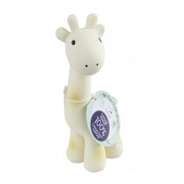 Bijt- en badspeeltje met belletje giraf - vanaf de geboorte