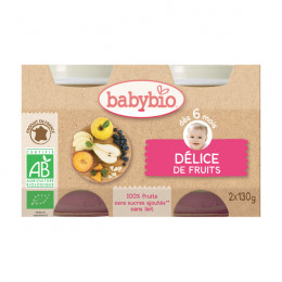 Fruitmengsel (vanaf 6 maanden) - pack van 2 potjes