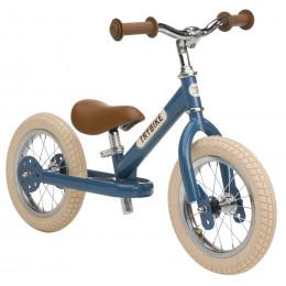 Trybike steel loopfiets vintage blue - tweewieler