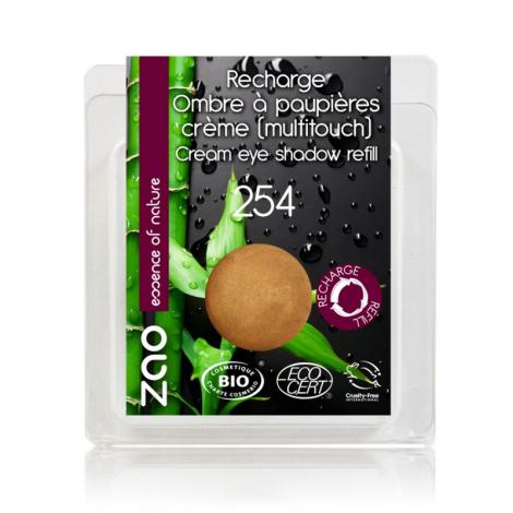 Recharge pour fard à paupières crème - bronze doré - 254 - 3 g