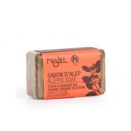 Savon d'Alep - fleurs d'oranger - 100 g