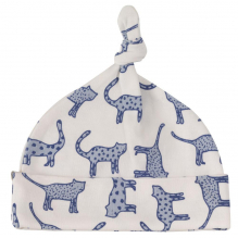 Muts in BIO katoen - Blauwe katten