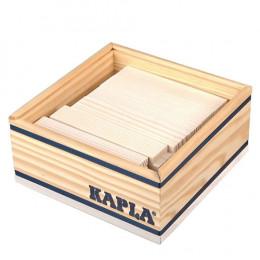 Houten doos met 40 blokken - Wit
