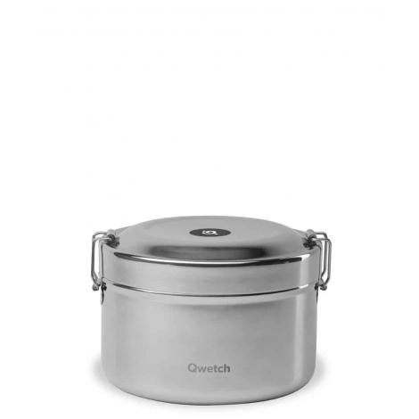 Bento isothermische doos in oud roestvrijstaal - 850 ml
