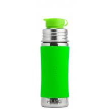 Gourde bouteille en inox - modèle sport - 850 ml